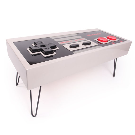 8-bit Retro Gaming Controller Coffee Table