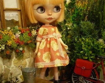 outfit , dress  for pullip or blythe