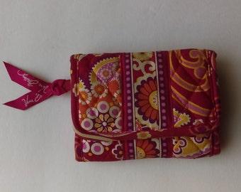 Vera Bradley Pink Floral Paisley Wallet
