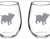 Pig Glass FREE Personalization