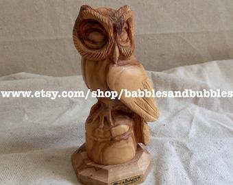 Vintage Olivart Owl On Perch