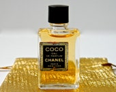 Vintage COCO Chanel Perfume Eau de Parfum Full Original Mini 4 ml  Miniature Bottle Gift Bag