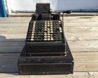 Antique Burrough's Adding Machine