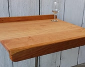 Pastry Board or  Bread Board - Reversible - Maple and Cherry - Not Damaged, Just Different!
