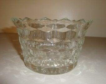 Fostoria AMERICAN CLEAR Open Compote also called Diamond FREE Shipping