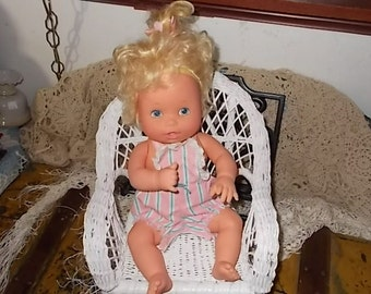 Vintage Kenner Baby Alive Doll With Outfit 1990 WORKS Not Included In Discount Coupon Sale :)S