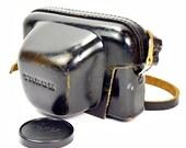 Original Vintage 1960's Taron Black Rangefinder Film Camera Case