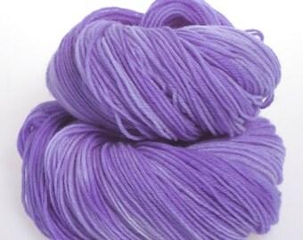 Hand dyed Yarn - 'Gypsy Punk'  Wool yarn, Superwash Merino wool