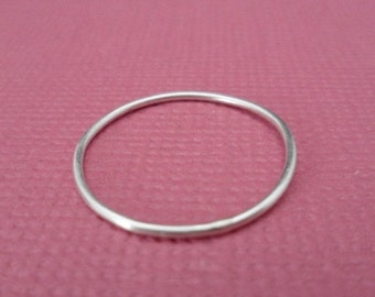 ON-SALE Stacking Ring - Barely there Ring, Thin band Ring, Sterling Silver Ring