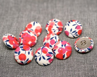 Liberty of London Wiltshire Fabric Covered Buttons