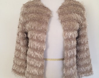 1970s Faux Furry Jacket