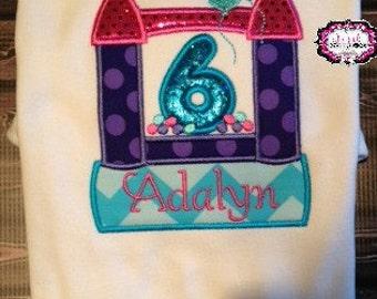 Bounce House Shirt, Bounce House Birthday, Bounce Birthday, Cake Smash, Birthday Shirt, Girl Birthday Shirt, Bounce House