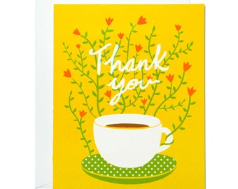 Thank You Cup Card