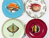Fancy Fish plate set
