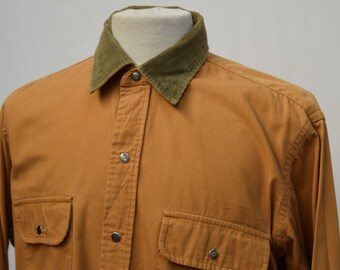 L.L.Bean Corduroy Collared Shirt