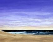 "Outer Banks Beach Sunrise 12 x 24"""