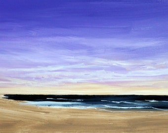 Outer Banks Beach Sunrise 12 x 24""
