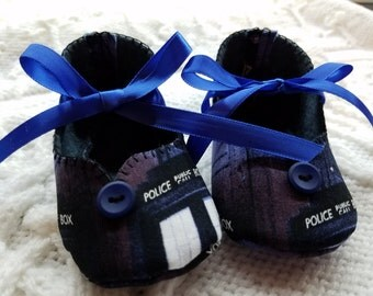 Doctor Who Baby Girl Shoes