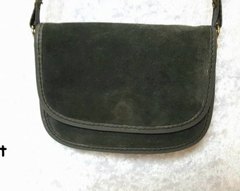 SMALL GRAY POUCH Long Strap Bag Small Shoulder Pouch Gray Coin Purse Small Purse On Shoulder Bags Gray Pouches Small Gray Pouches