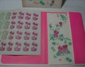 1960's Postcards, Vintage Writing Paper, Psychedelic Writing Paper