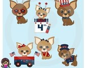2016 American Chihuahua Clip art  Clipart Graphics  Commercial Use