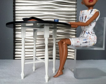 dining table for 12 inch dolls - Barbie, Blythe, Integrity and others
