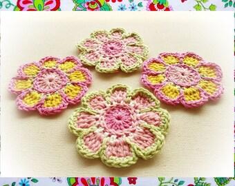 Enchantées  Crochet FlowersPattern