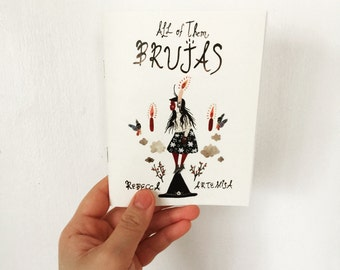 All of them BRUJAS Full Color Mini Comic Zine Witch