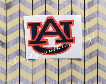 Auburn decal / tiger love / AU decal