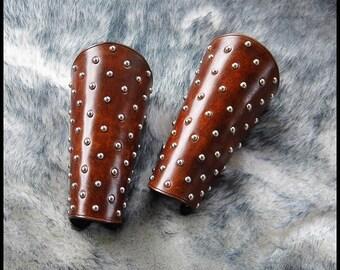Studded Leather Bracers