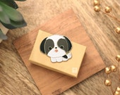 Black & White Shih Tzu Pin
