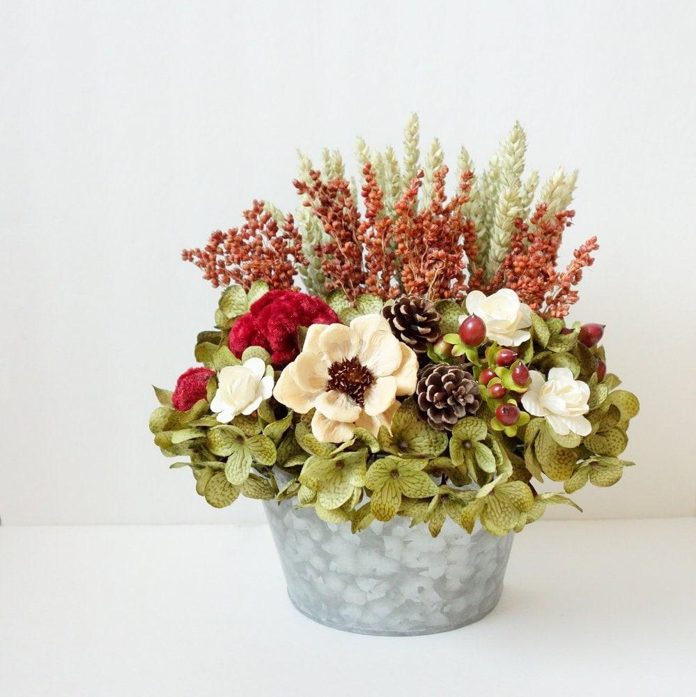 modern flower arrangement floral wall pocket dried. Black Bedroom Furniture Sets. Home Design Ideas