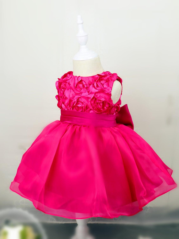 hot pink baby dress - photo #29