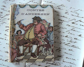 Andersen tales - little book. French book. Contes d'andersen