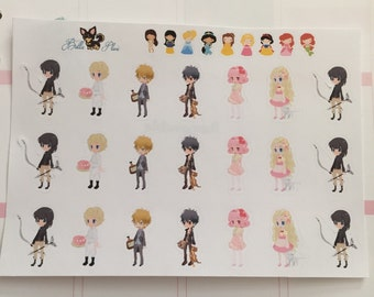 HS Hunger Games Inspired Planner Stickers | Any Planner | Katniss | Peeta | Gale | Book | Books |