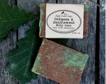Oakmoss & Sandlewood Body Soap for Guys