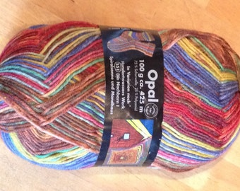 Sockwool Opal, Hundertwasser, color 2100 series