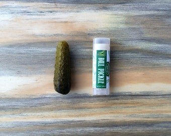 Vegan Dill Pickle Lip Balm- LIMITED EDITION