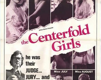 Vintage Original Movie Poster The Centerfold Girls