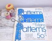 ON SALE Vintage Book-Blue Ribbon Crochet Patterns p150