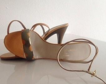 ON SALE 1970s Vintage Designer Heels From Charles Jourdan Size 6.5