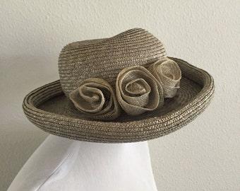 Vintsge Straw Church Hat