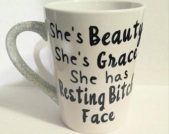 Resting Bitch Face Mug