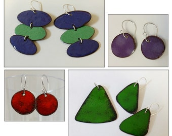 Torch Fired Enameling Workshop at Maine Jewelry and Art, 100 Harlow Street in Bangor Maine