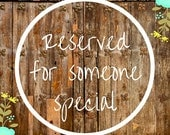 Reserved for Amy - Custom Lanyard (see description)