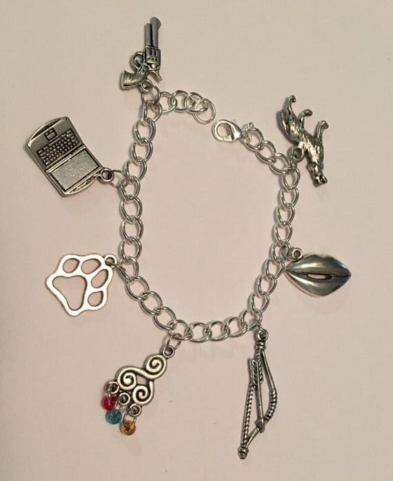 Teen Wolf Charm Bracelet Teen Wolf Jewelry Stiles Stilinski