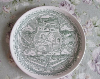 Vintage New York decorative plate / Decorative plate Mid Century