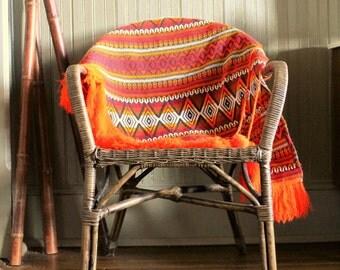 Vintage Peruvian Poncho