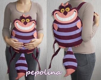 Cheshire cat (Alice in Wonderland) backpack