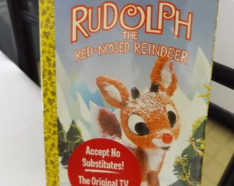 NEW Rudolph The Red Nose Reindeer & How The Grinch VHS Tape